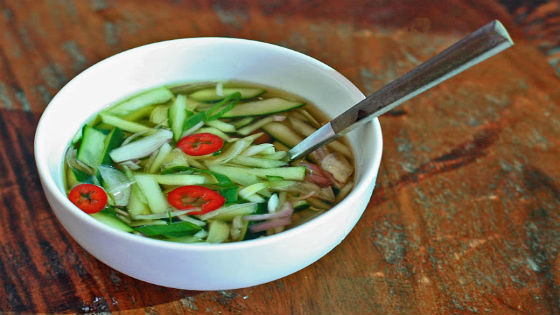 Oi Naengguk Korean Cucumber Soup